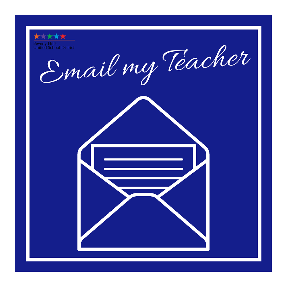 Email my teacher