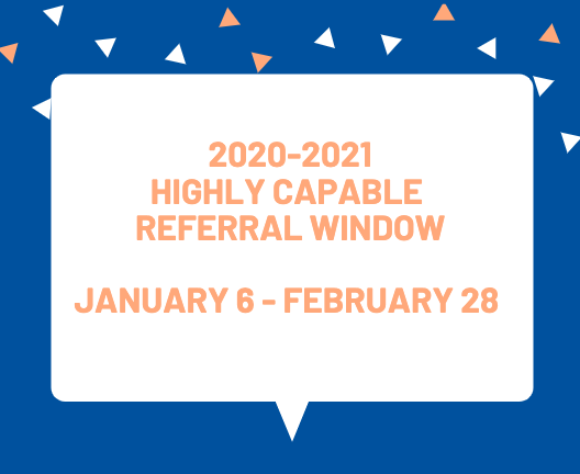 HIghly Capable Referral Window