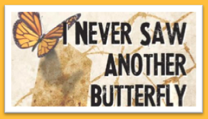 I Never Saw Another Butterfly logo