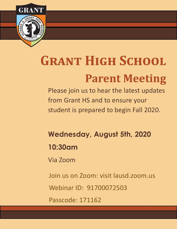 Parent Meeting on Wednesday, August 5th at 10:30am Featured Photo