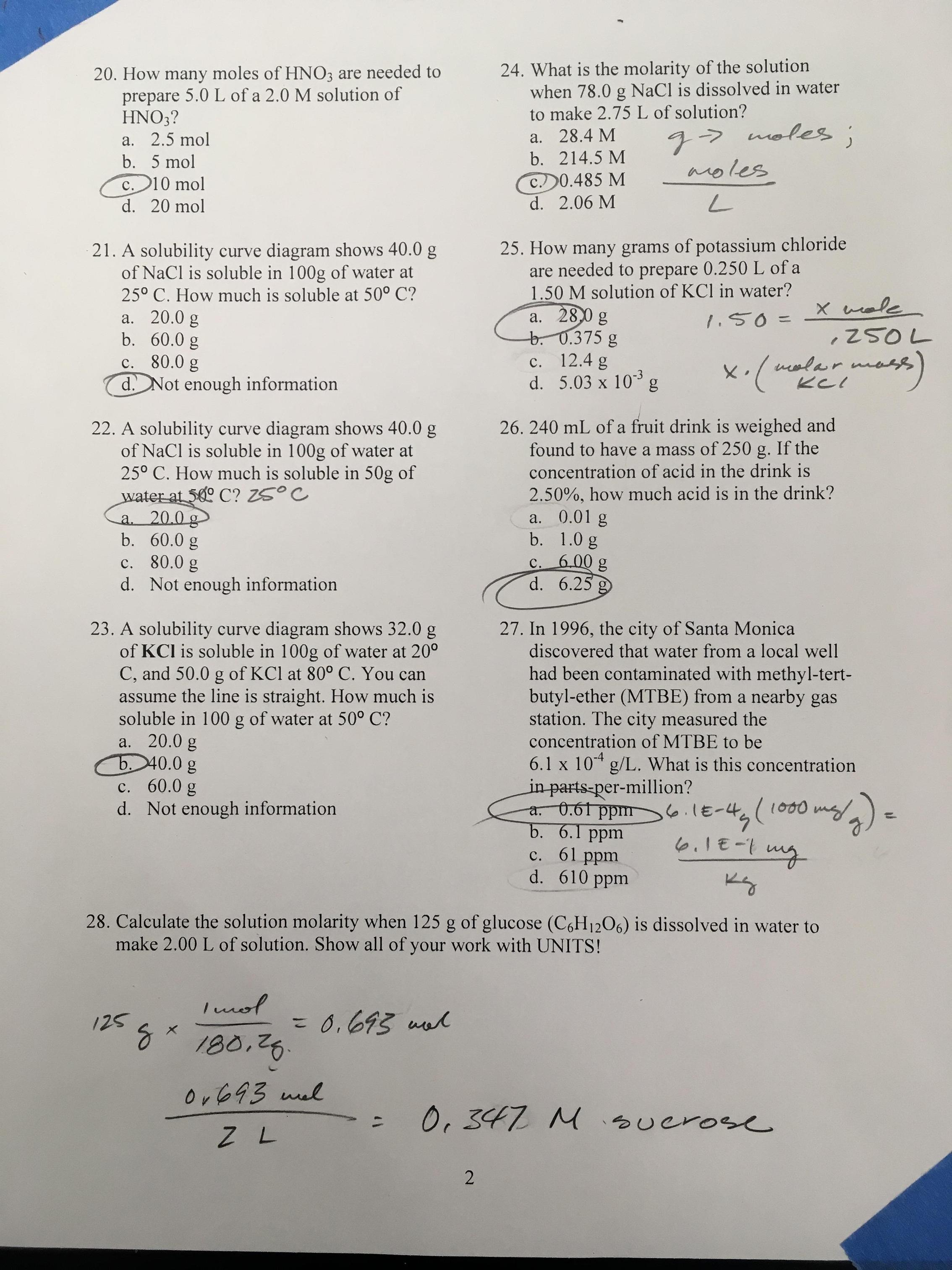 drivers ed chapter 10 test answers