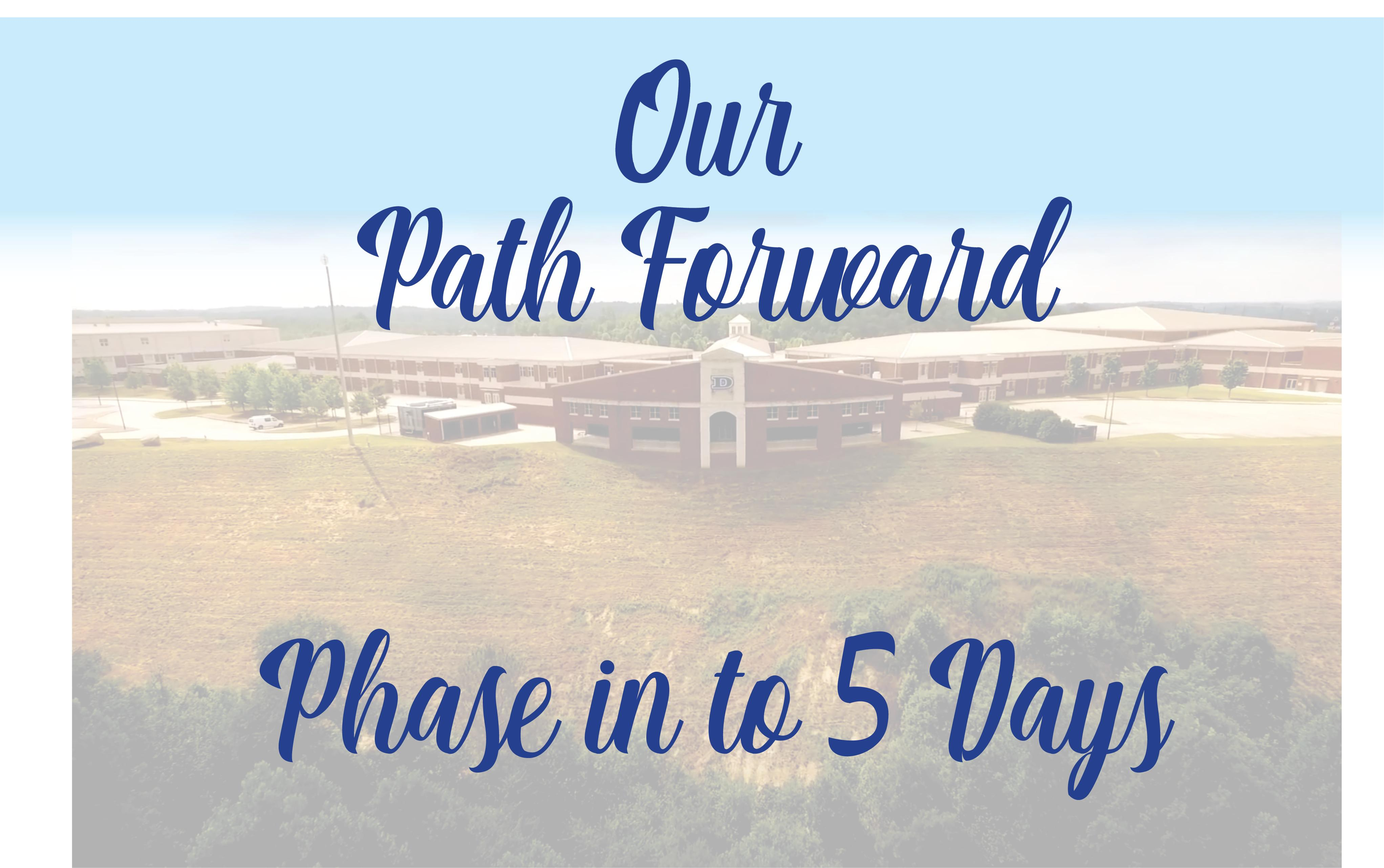 Our path forward - phase in to five days
