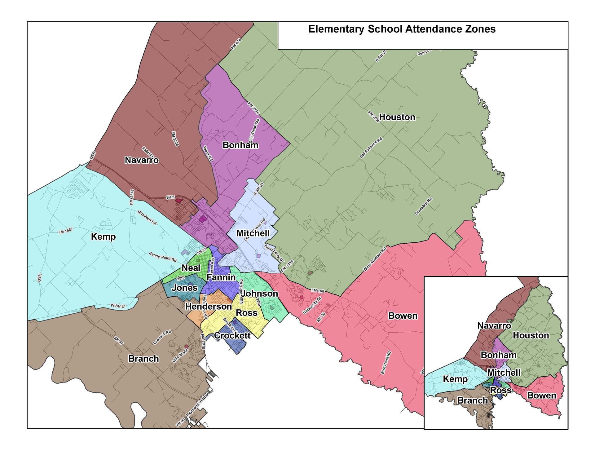 Elementary Attendance Zones