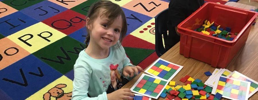 Kindergarten is all smiles!