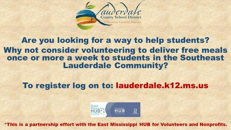 Southeast Grab & Go Meal Delivery Volunteer Flyer