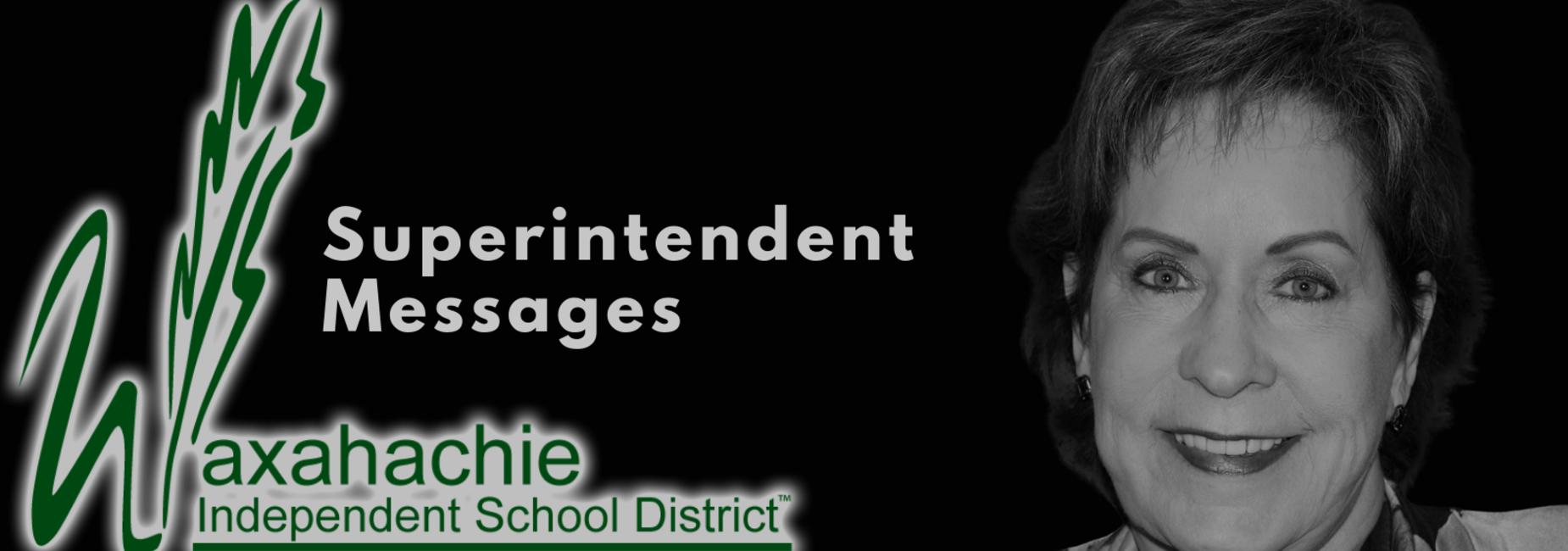 headshot of superintendent