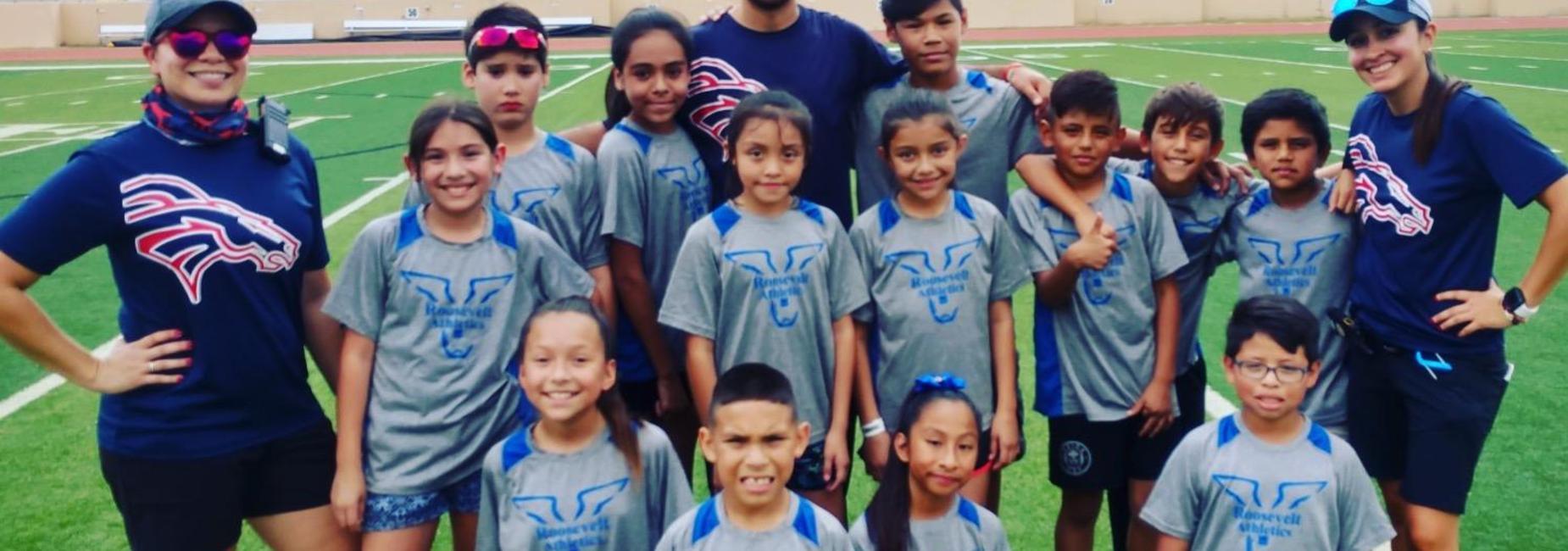 Roosevelt Broncos Track Team