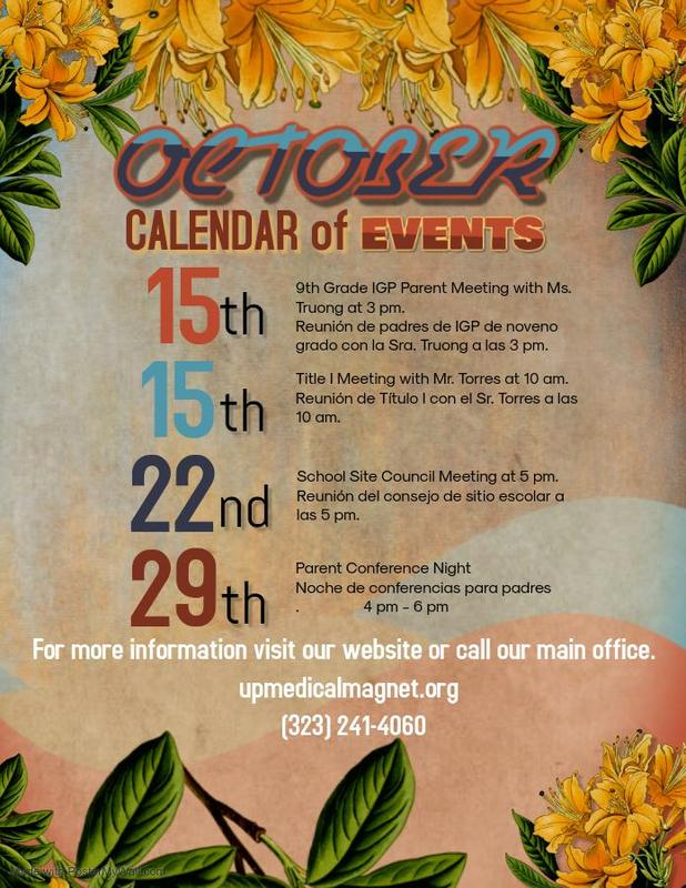 October Events Featured Photo