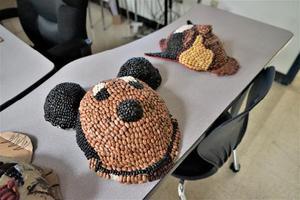 African Bean Masks