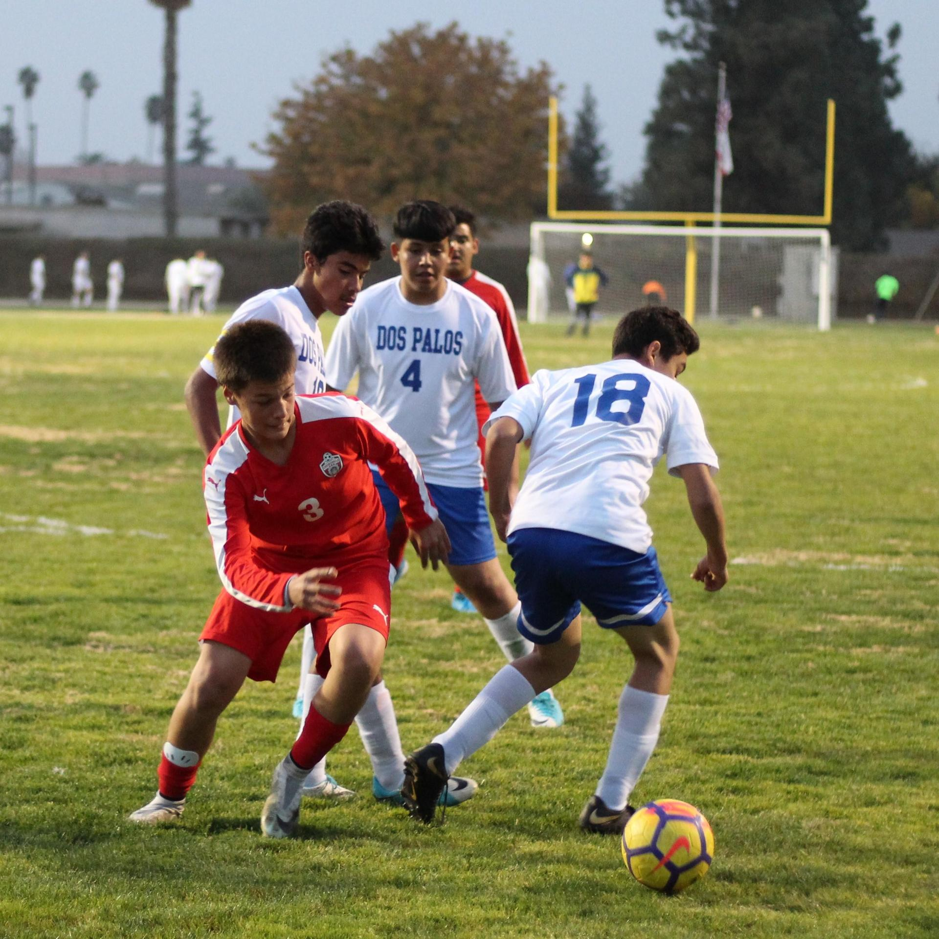 Seth Gonzales Attacking the Ball