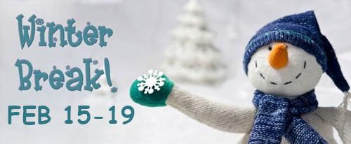 Winter Break Snowman Feb 15-19