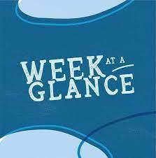 Week at a Glance Featured Photo