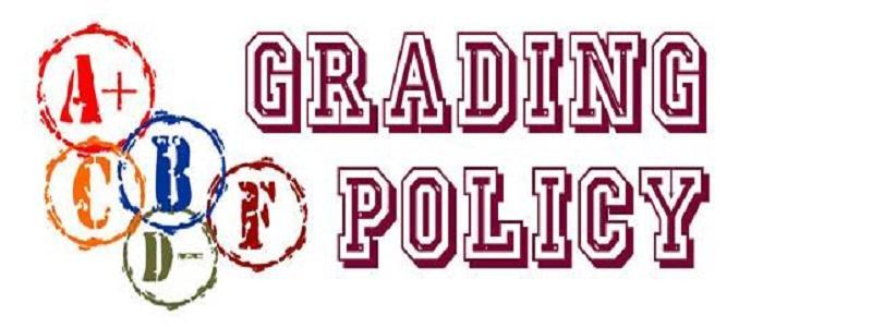 HS grading policy - 2nd semester