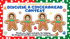 Image of Gingerbread Disguise poster