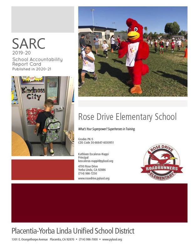 2019-2020 SARC Report