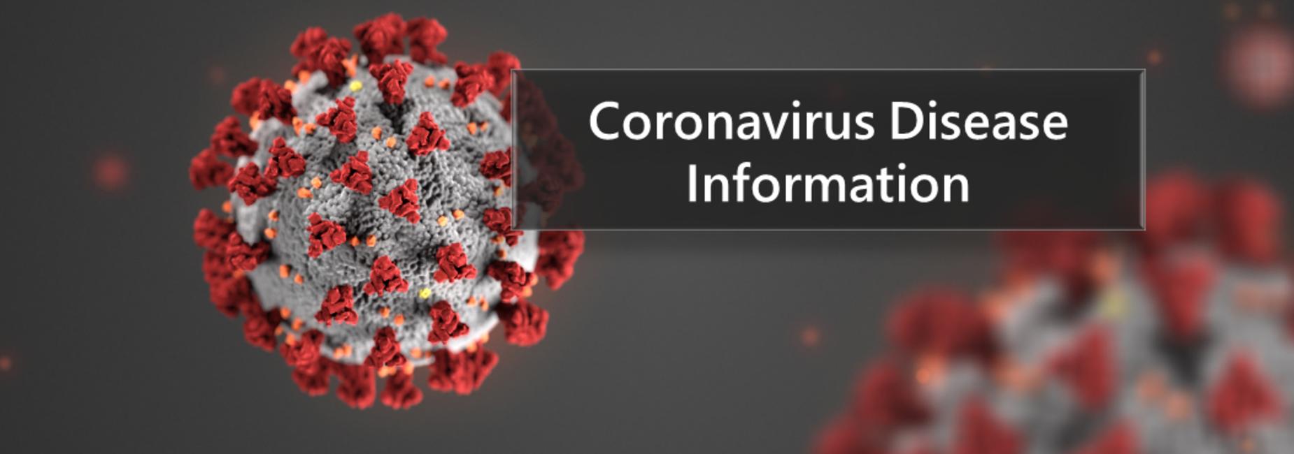 Coronavirus Disease information link