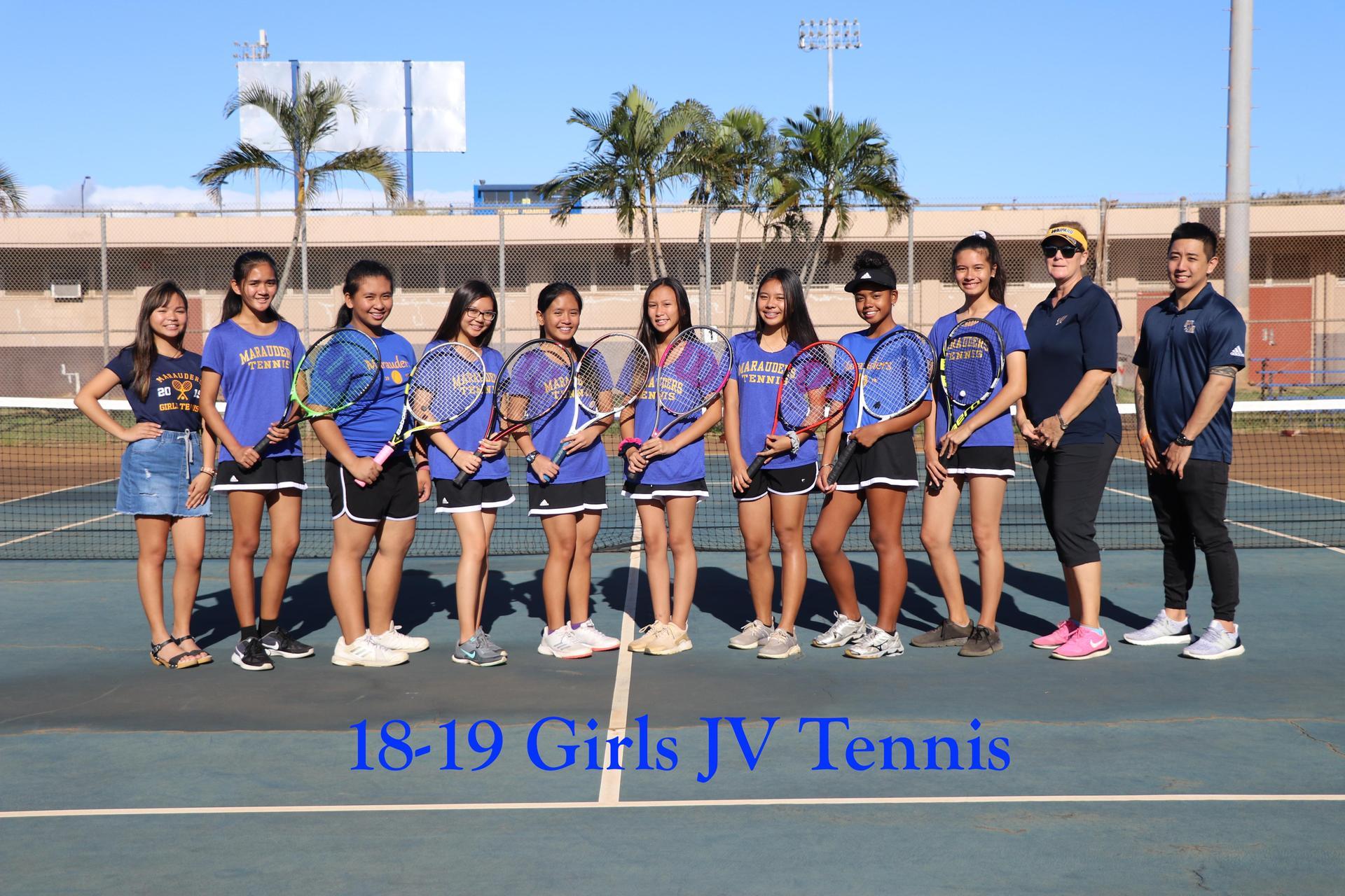 Tennis Girls JV