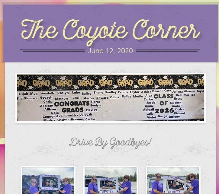 June 12 Coyote Corner