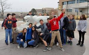 Students visit UCCS campus from CCMS