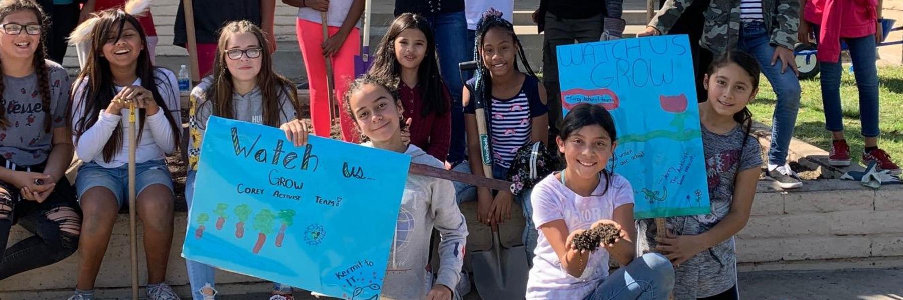 6th grade student Activists