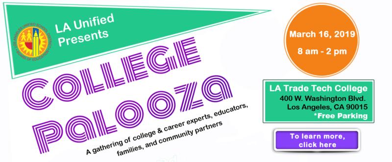 LA Unified Presents College Palooza Thumbnail Image