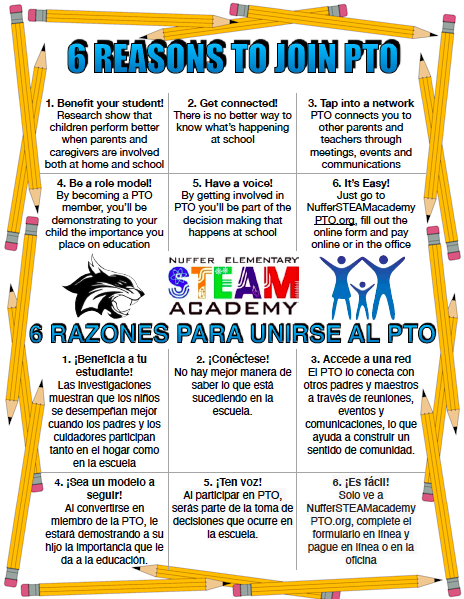 Join Nuffer STEAM Academy PTO Featured Photo