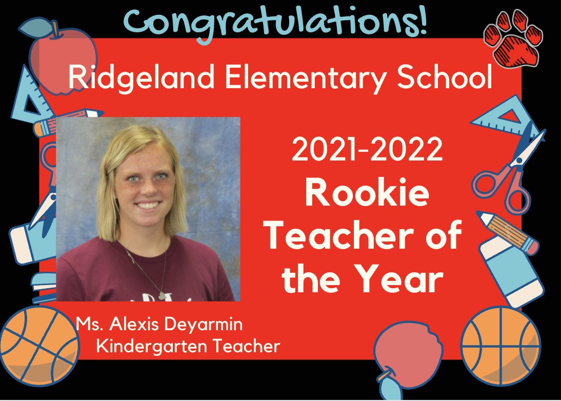 Ridgeland Elementary School Rookie TOY