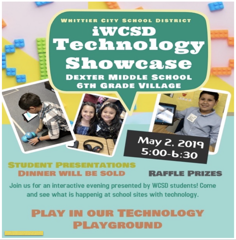Technology Showcase Flyer