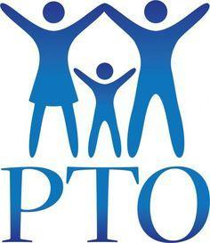 Picture of 2 adults and one child with the letters PTO underneath them
