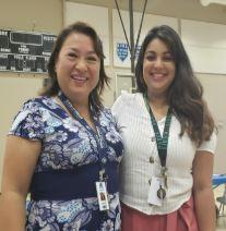 Mrs. Navia and Ms. Martinez