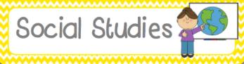 Social Studies Clipart