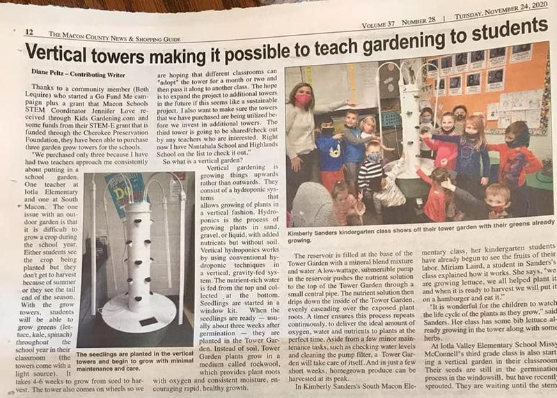 Grow Towers in Macon County Schools Featured Photo