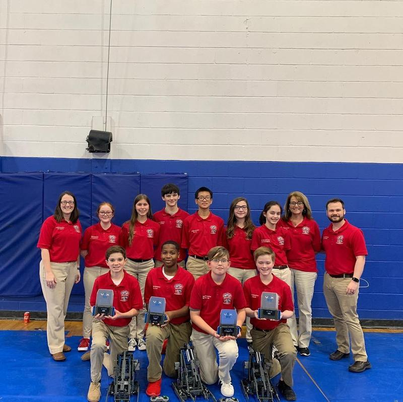 Pass Christian Middle School Robotics Teams Advance to State Competition Featured Photo