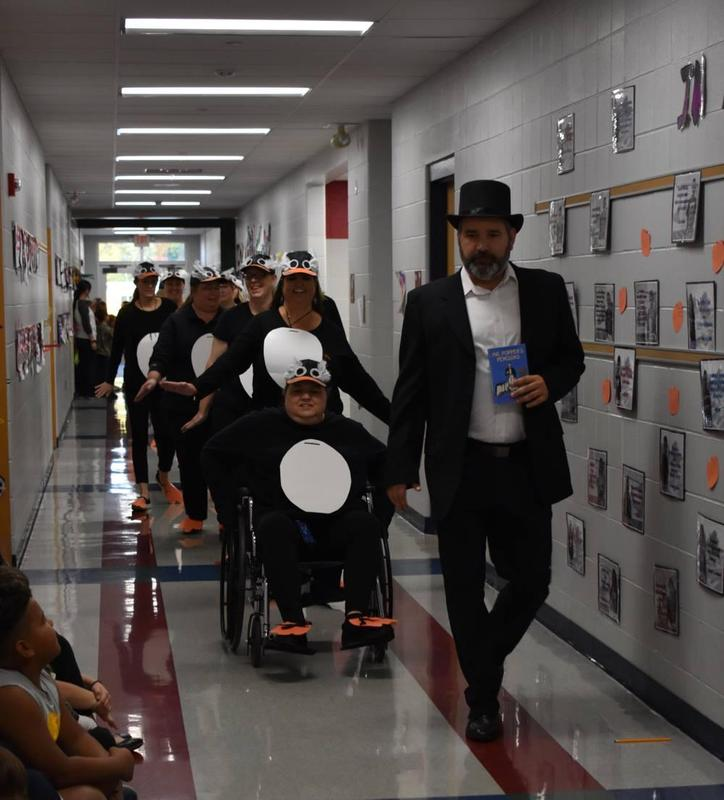 Right To Read Week Character parade