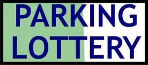 Parking Lottery Sign.JPG