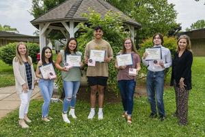 Riverdale nutrition students