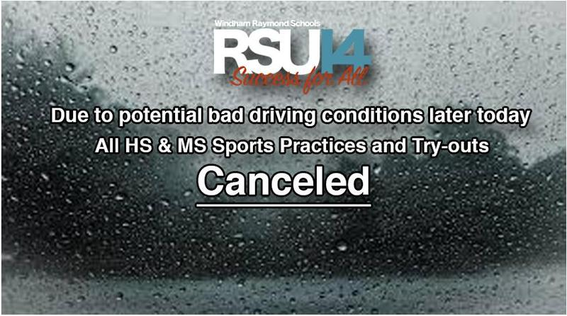 Sports Canceled