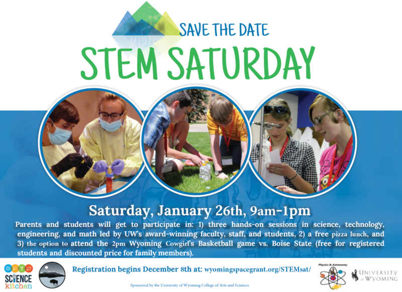 STEM Saturday Flyer