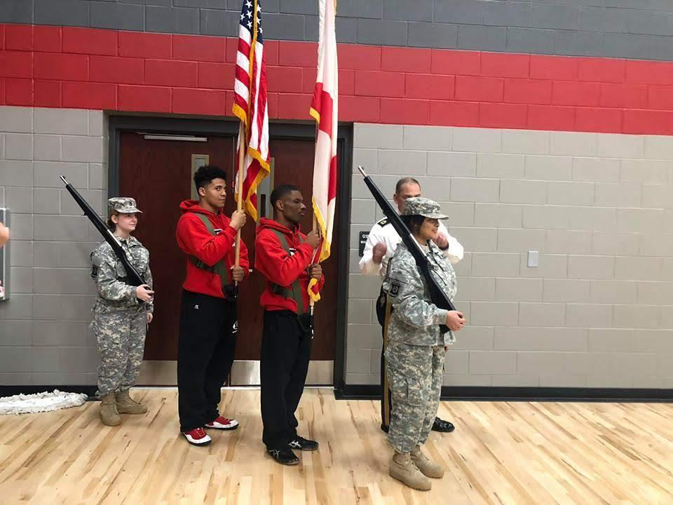 Combined Color Guard