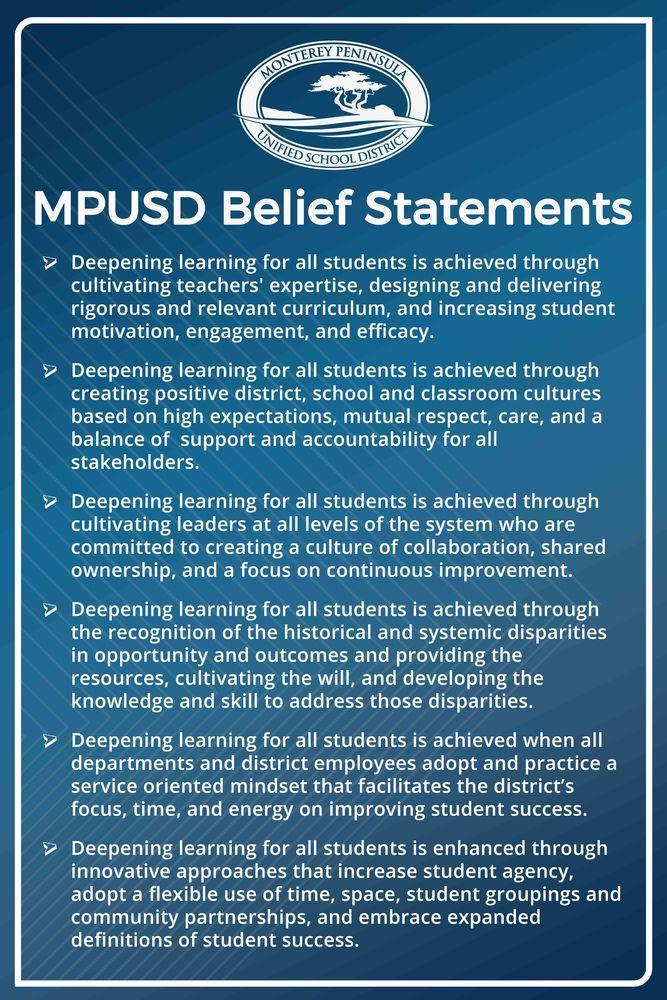 About Us – About Us – Monterey Peninsula Unified School District