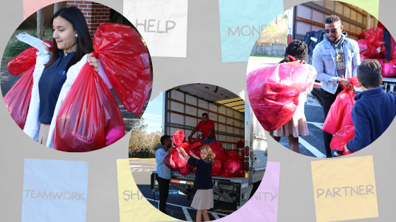 AES Community Service in partnership with Salvation Army Featured Photo