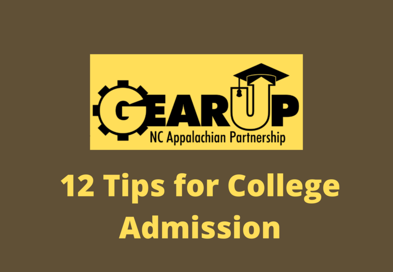 Gear Up 12 Tips for College Admission Thumbnail Image