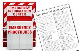 School emergency information