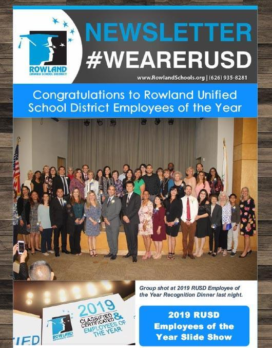 RUSD 2019-20 Employees of the Year! Thumbnail Image