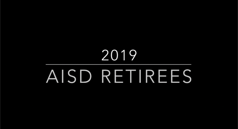 AISD 2019 RETIREMENT VIDEO - CLICK HERE Thumbnail Image