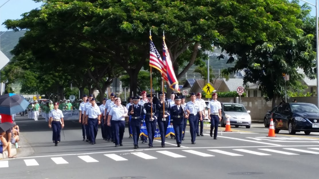 AFJROTC Holiday Parade 2018