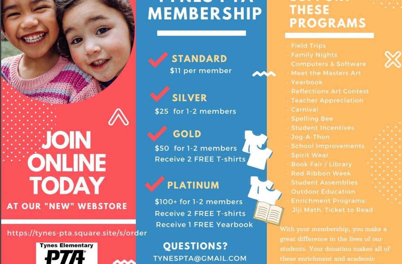 PTA Membership info
