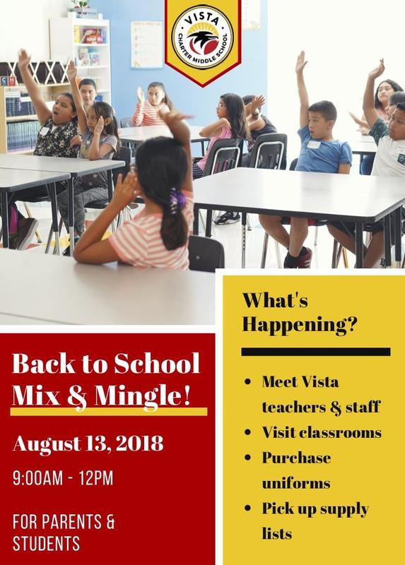 Back to School Mix and Mingle Featured Photo