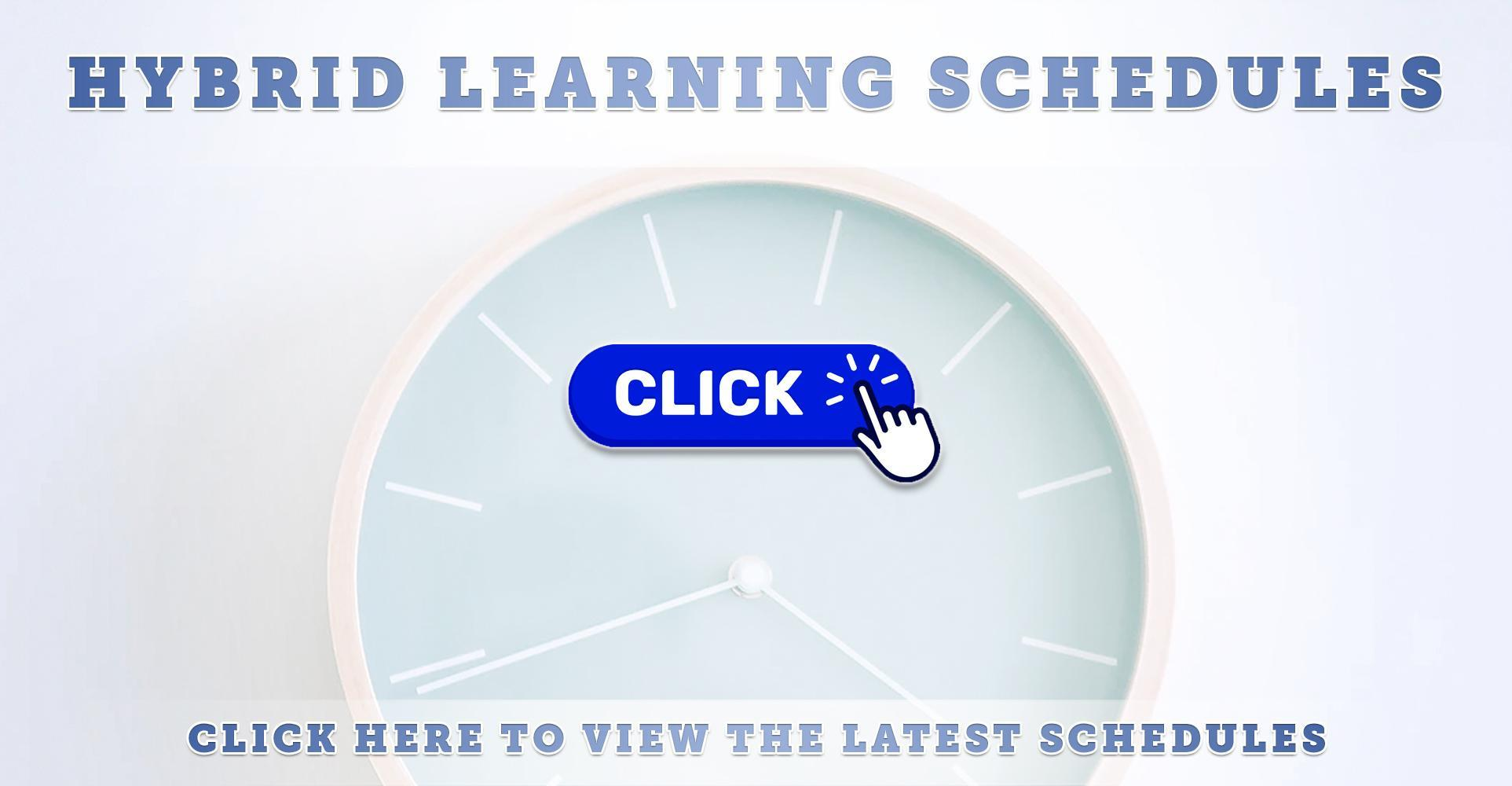 Updated Hybrid Learning Schedules (2020-2021) [English & Español]
