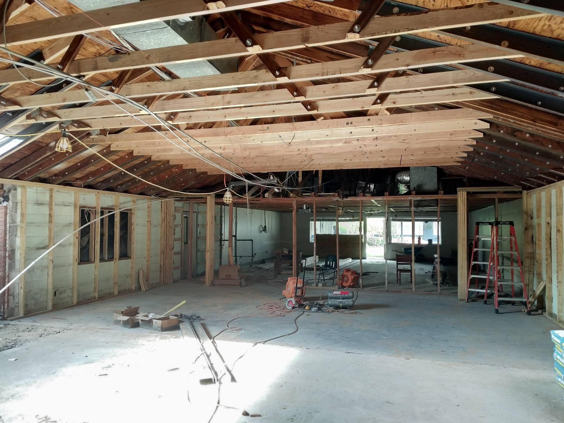 learning center construction